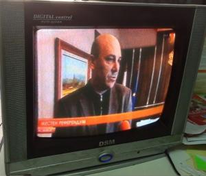 テレビでも国民投票について取り上げられている。